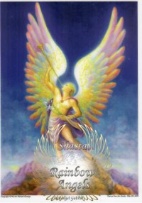 Archangel Gabriel (GA3) - 5X7 Laminated Altar Card | Shasta Rainbow Angels