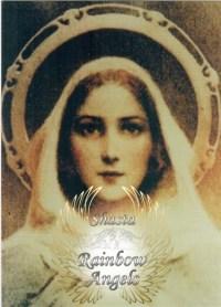 Mother Mary (MM2) Laminated 5x7 Art Print | Shasta Rainbow Angels