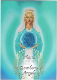 Mother Mary (MM4) Laminated 5x7 Art Print | Shasta Rainbow Angels