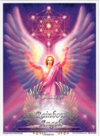 Metatron (MN) - 5X7 Laminated Altar Card | Shasta Rainbow Angels