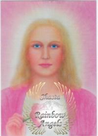 Lady Nada (NA) - 5X7 Laminated Altar Card | Shasta Rainbow Angels