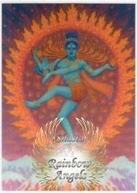 Shiva (SH1) - 5X7 Laminated Altar Card | Shasta Rainbow Angels