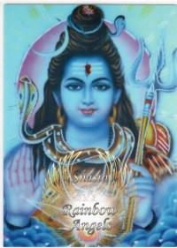Shiva (SH3) - 5X7 Laminated Altar Card | Shasta Rainbow Angels