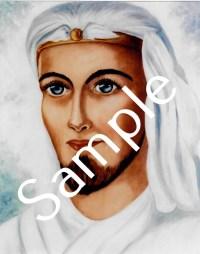 Serapis Bey 8x10 art print in protective sleeve | Shasta Rainbow Angels