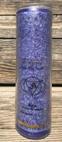 Abundance Third Eye Chakra Fragrance Free Jar Candle | Shasta Rainbow Angels
