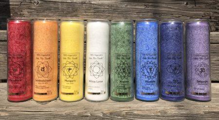 Protection Solar Plexus Chakra Fragrance Free Jar Candle | Shasta Rainbow Angels