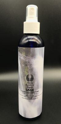 Sage Room Clearing Spray Mist | Shasta Rainbow Angels