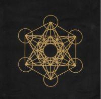 Metatron Cube Crystal Grid Cloth | Shasta Rainbow Angels