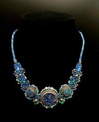 Blue Druzy Isha Elafi Sterling Silver Necklace | Shasta Rainbow Angels