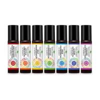 Chakra Synergies by Plant Therapy Roll-on Essential Oil Set   Shasta Rainbow Angels