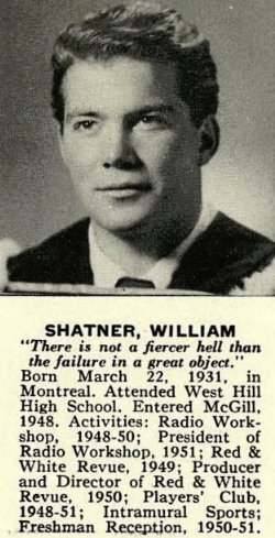 1952 – Shatner Year In Review