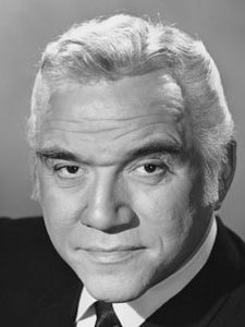 Close up of Lorne Greene
