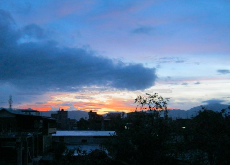 Image of Sunset in Imphal, Manipur, India