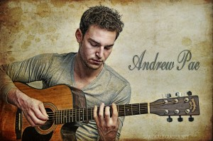 Andrew Pae Musician album cover by Shaun Alexander Photography