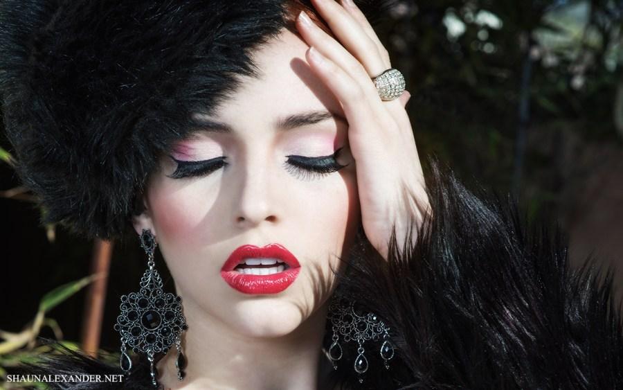 Beauty photographer Shaun Alexander