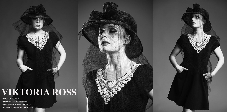 Viktoria Ross Album covers and publicity shots