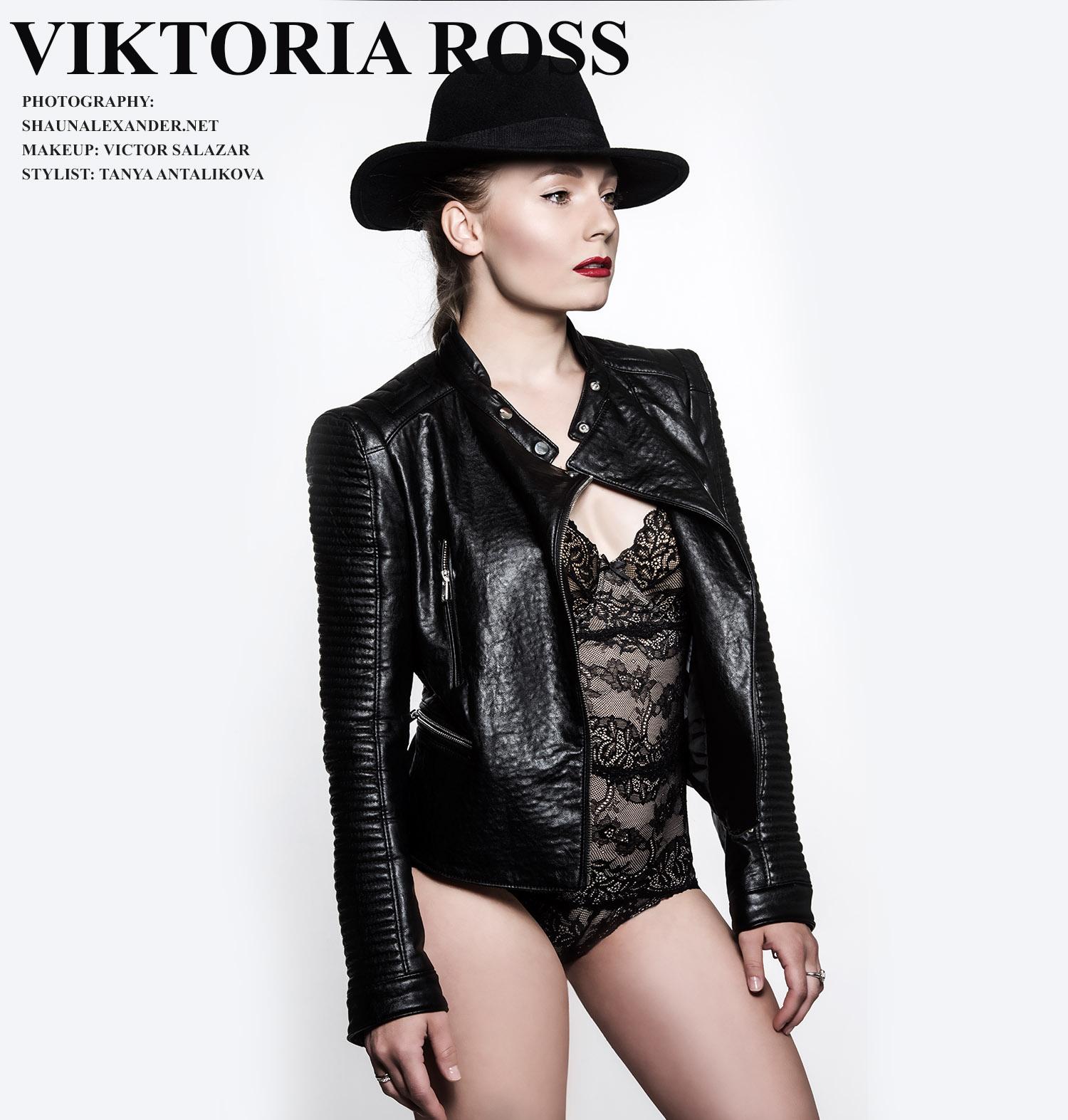 VIKTORIA ROSS RUSSIAN UKRAINIAN SINGER ALBUM COVER