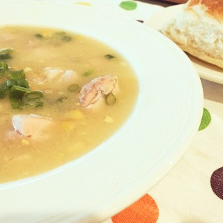 Knock Your Socks Off Chicken & Corn Soup Recipe