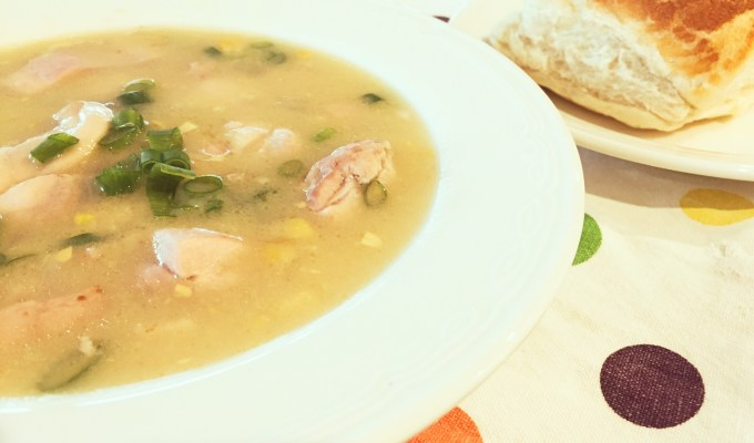 Knock Your Socks Off Chicken & Corn Soup Recipe