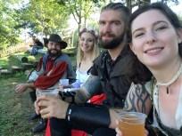 Friends and fun at the Connecticut renaissance faire