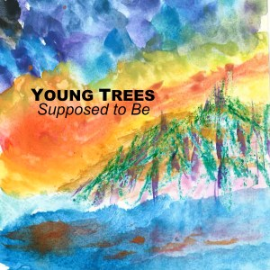 Young Trees CD Wallet Cover