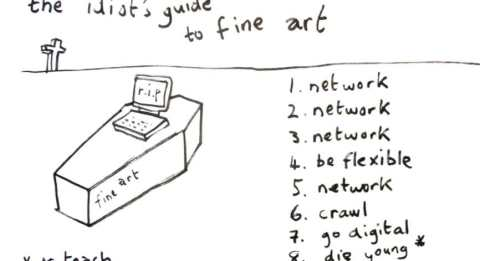 idiot's guide to fine art