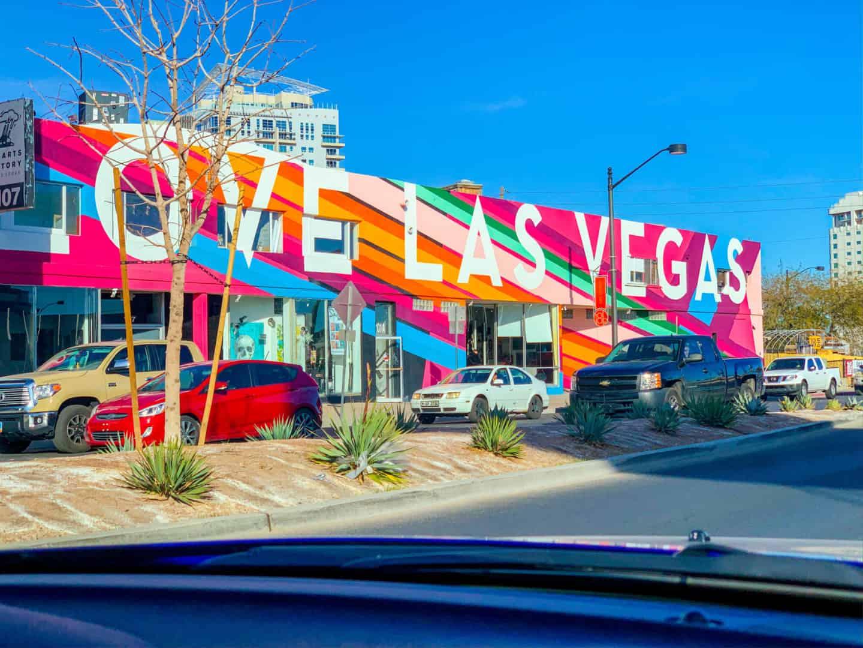 Love Las Vegas Downtown Las Vegas Mural