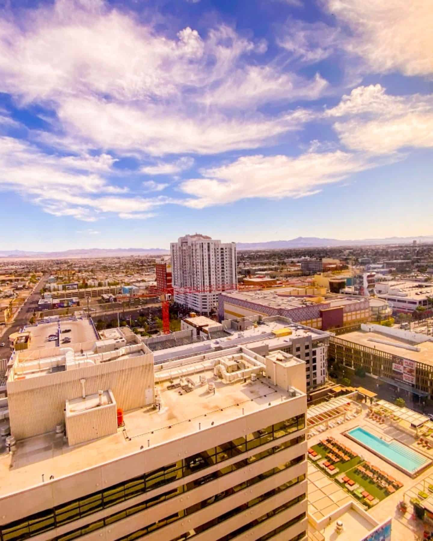 The Downtown Grand Las Vegas Rooftop Pool
