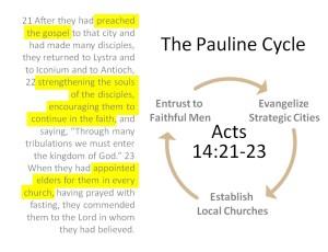 The Pauline Cycle