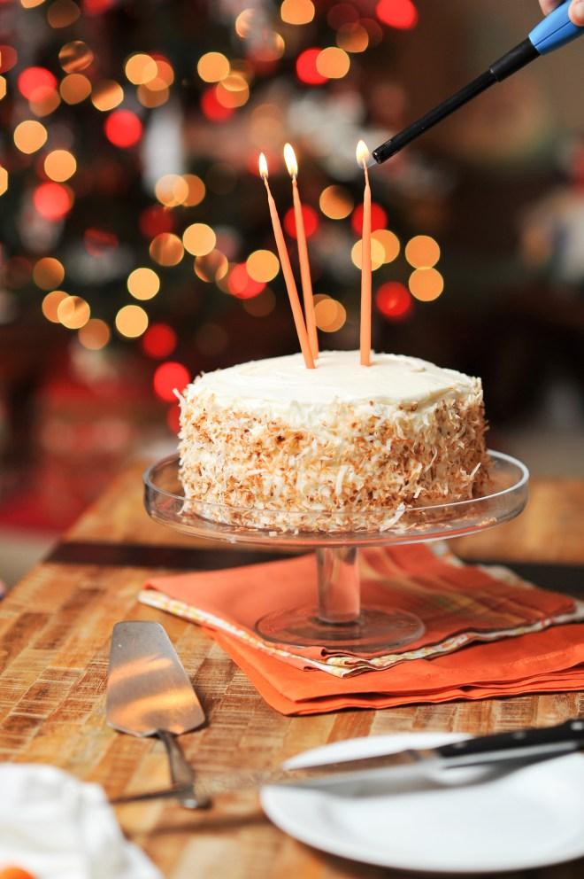 carrot birthday cake