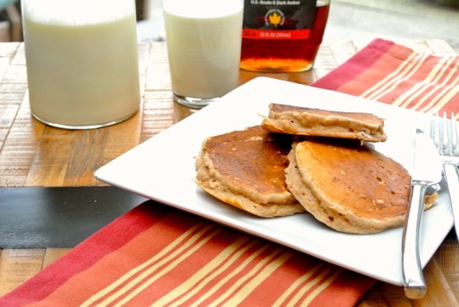 PB Honey Pancakes1