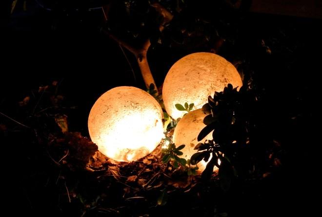 glowing orbs