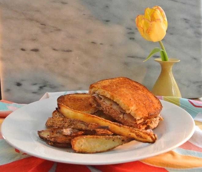 Beef Wellington Sandwich & Fries
