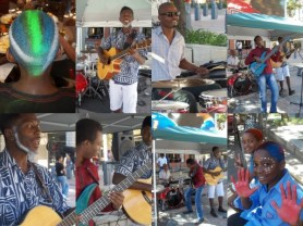 Della Tamin & Friends perform for the CANSA Shavathon on the Square at Melrose Arch - Uber Cool music for a great cause