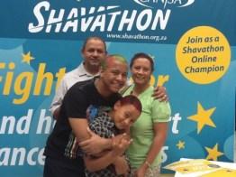 Families unite for Shavathon