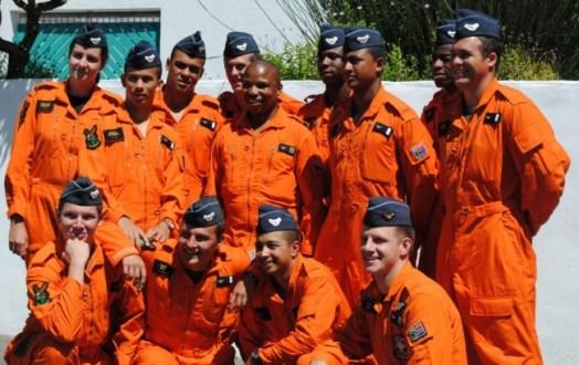 The team in uni at Club Mykonos Langebaan