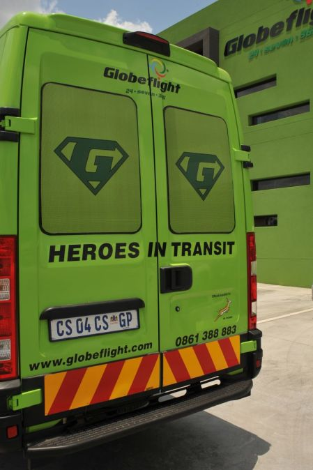 Our courier heroes, Globeflight