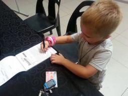 signing up for shavathon