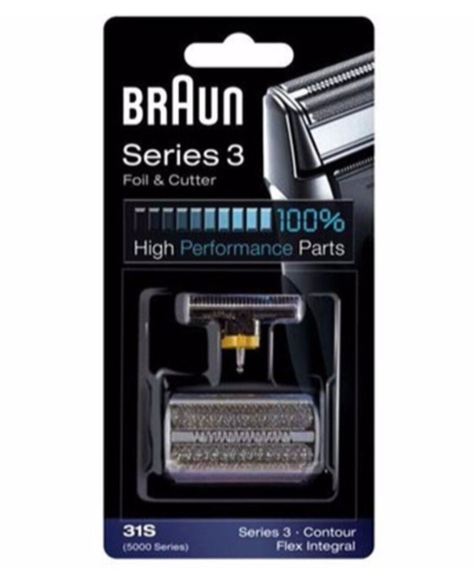 Braun | Series 3 31S Foil & Cutter Shaver Replacement Part ...