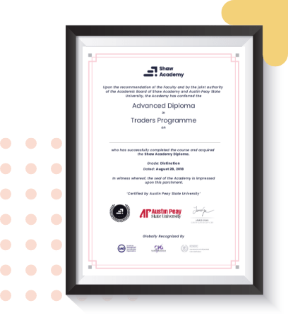 shaw academy certificate