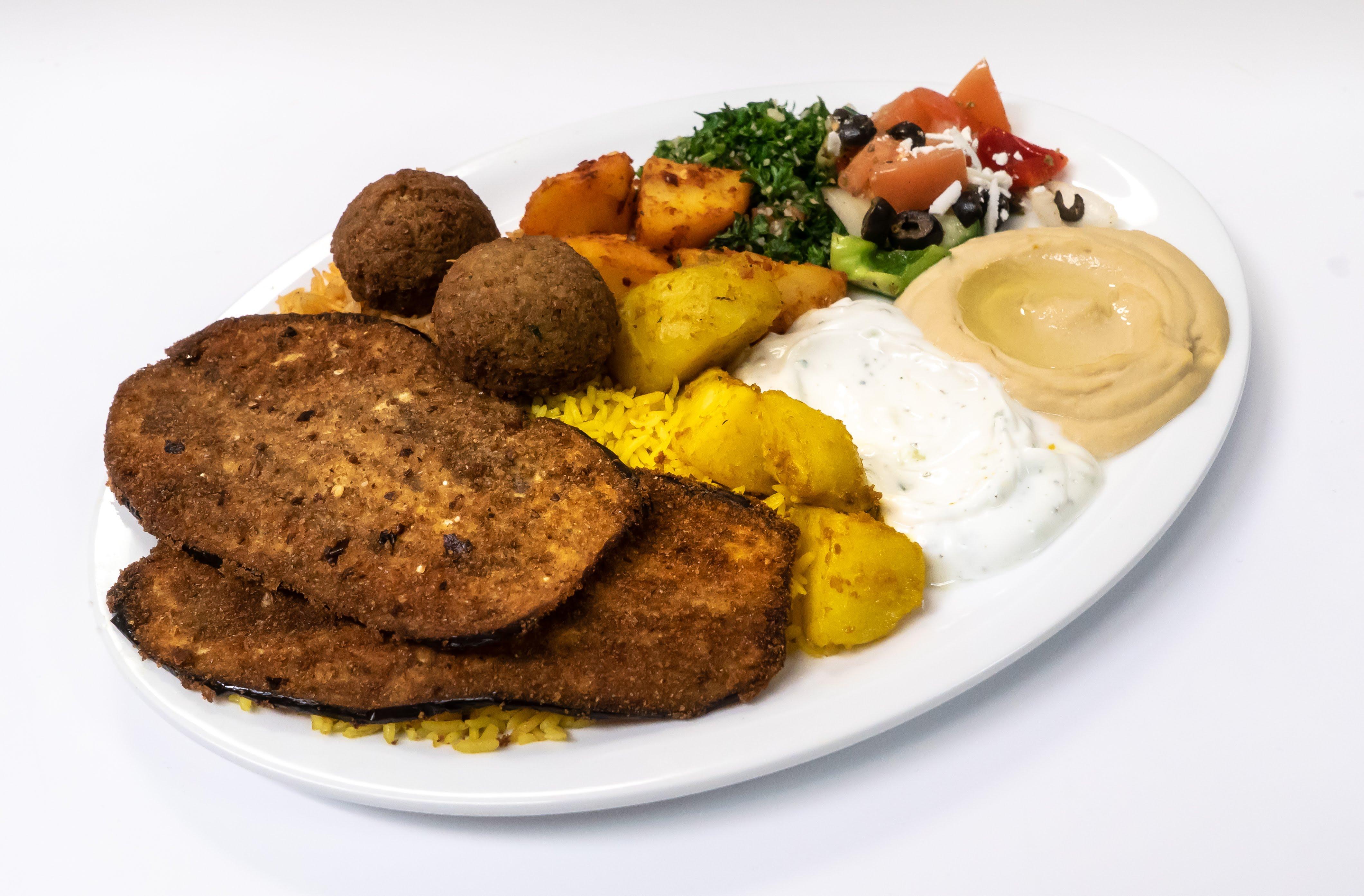 Mix Vegetarian Plate