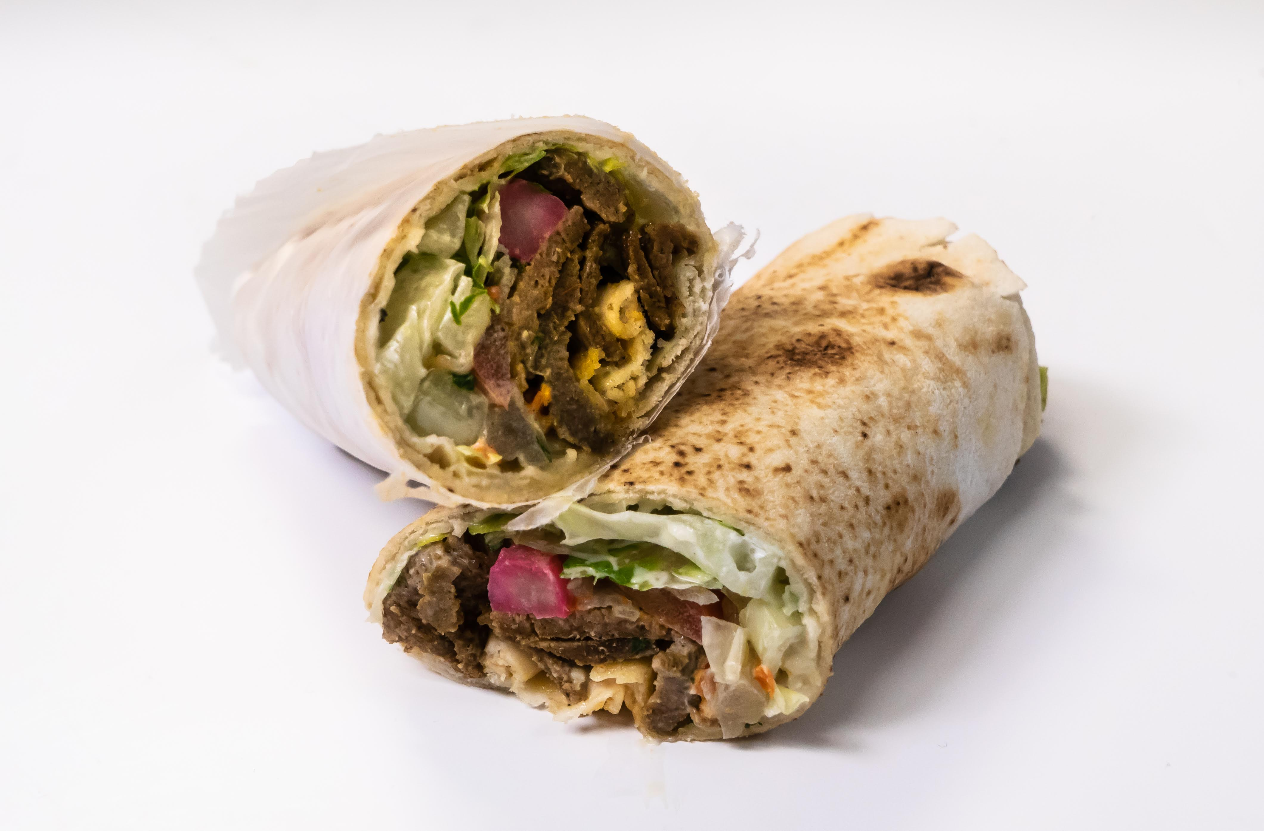 Beef Kabab Wrap