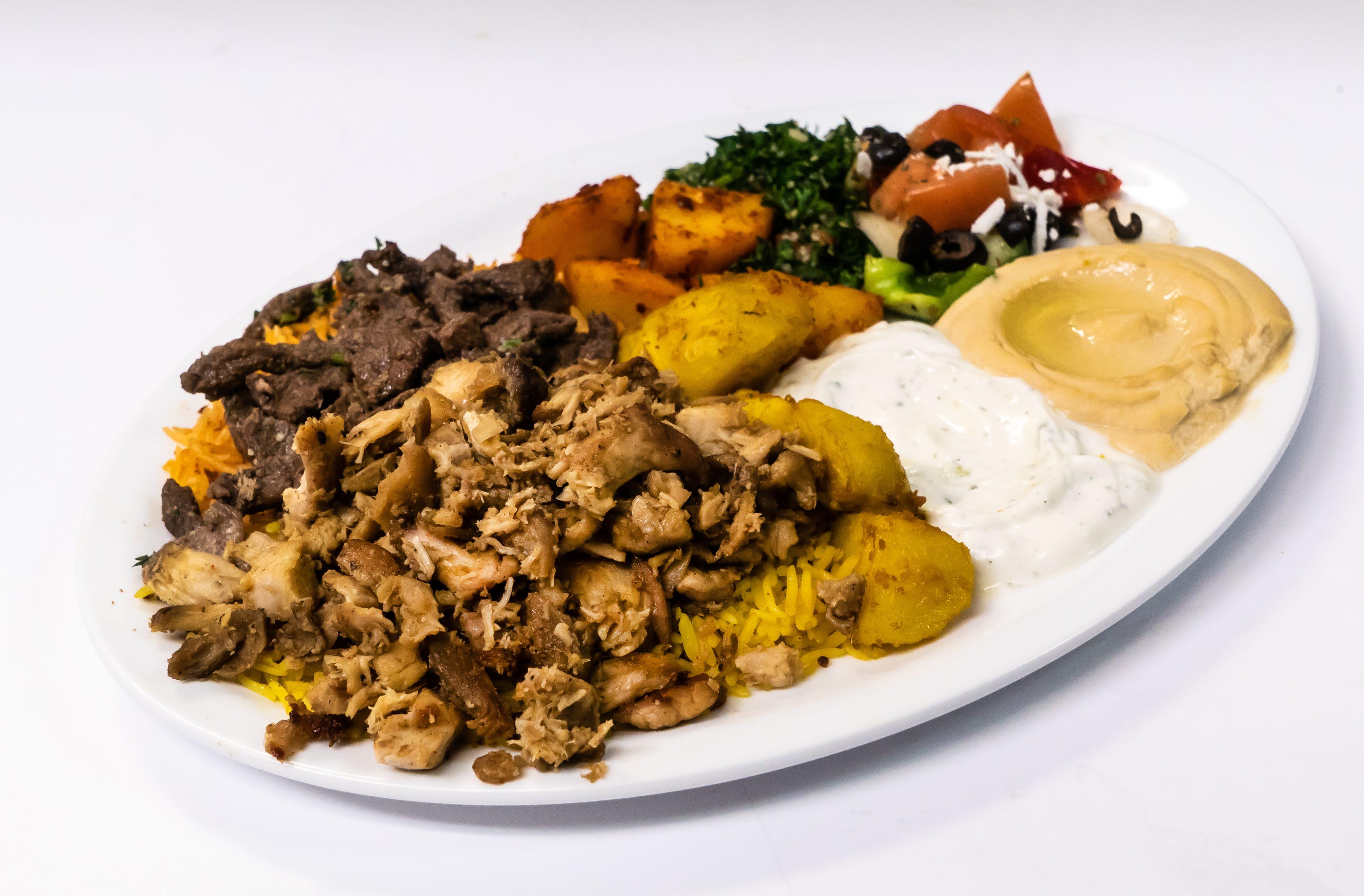 Mix shawarma plate