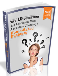 Matt Lloyd's 10 Question eBook