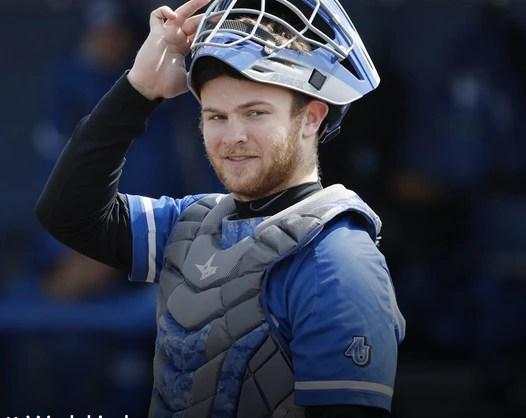 Jett Wedekind, senior catcher, Aurora University