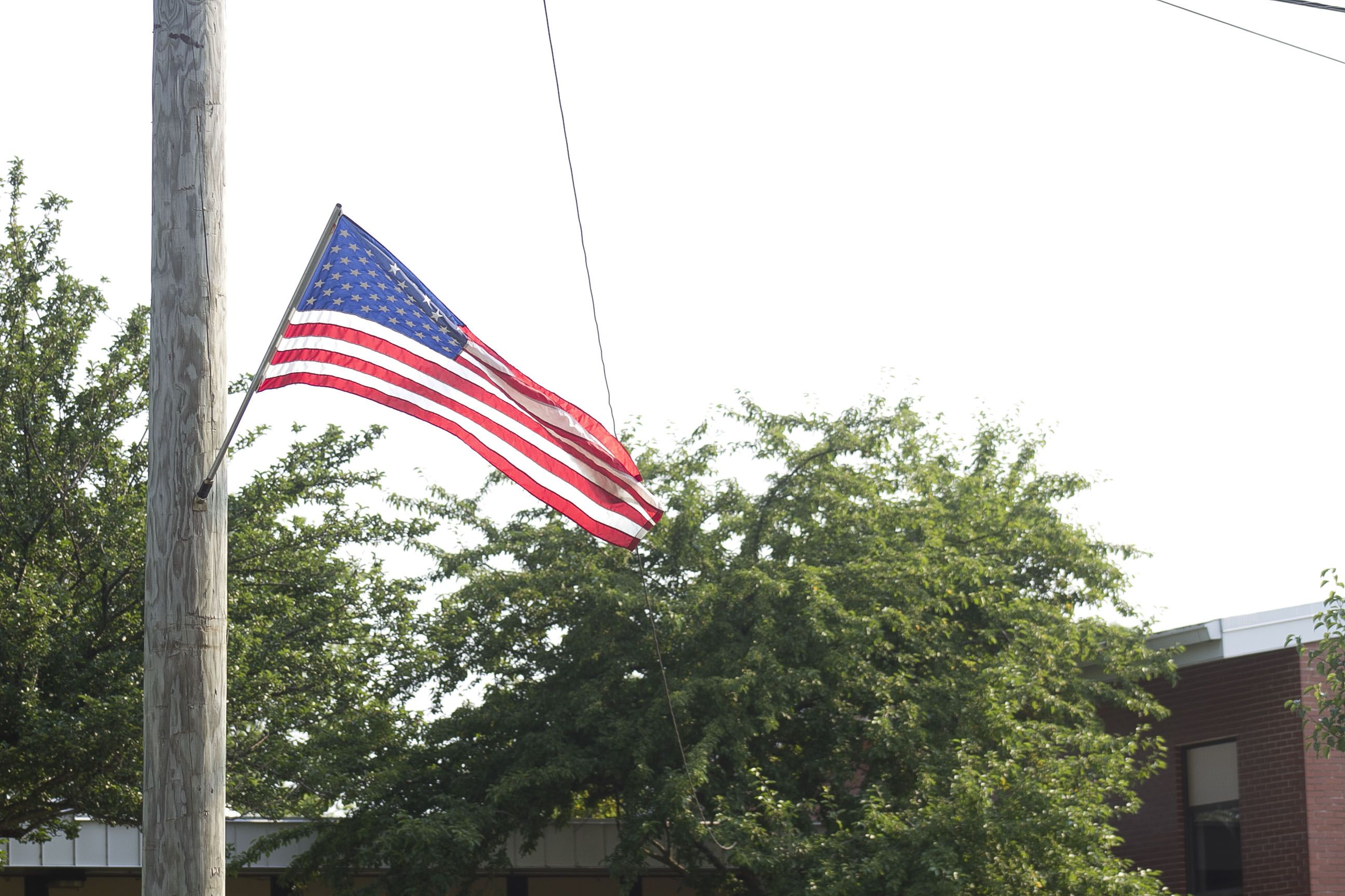 Yorkville residents lined the streets July 3, to watch the city's annual Fourth of July parade and gather after at Town Square Park to listen to the Community Band and continue the celebration.