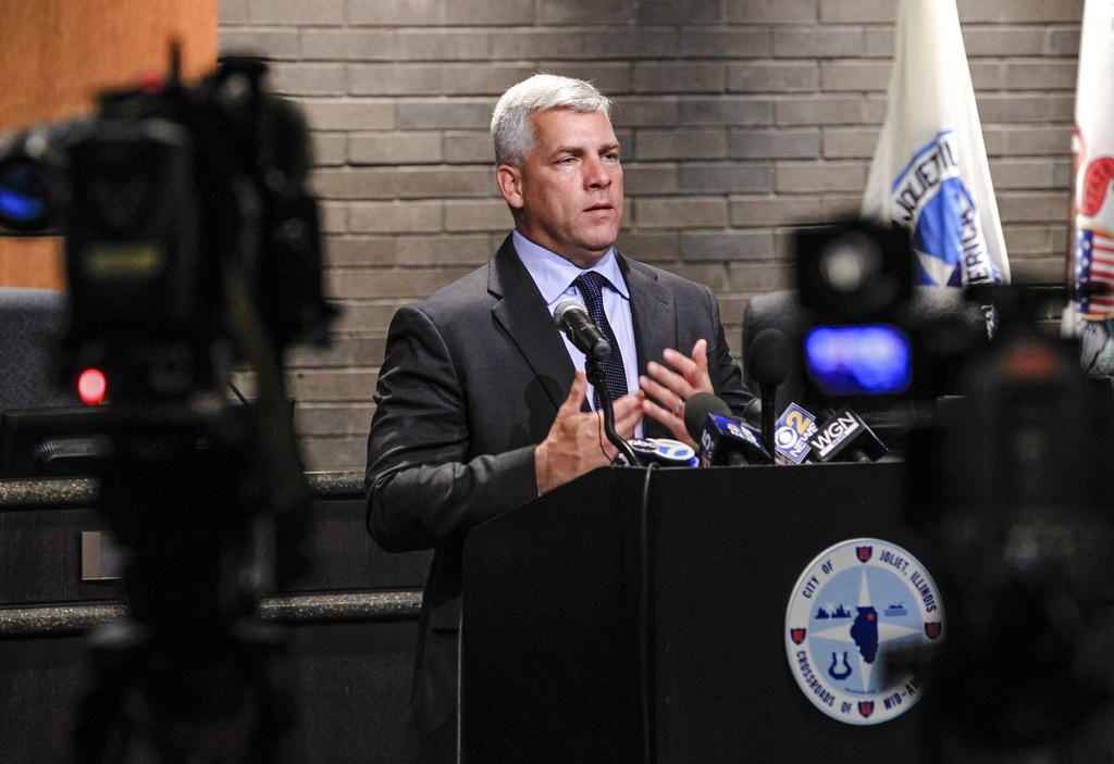 Joliet Mayor Bob O'Dekirk