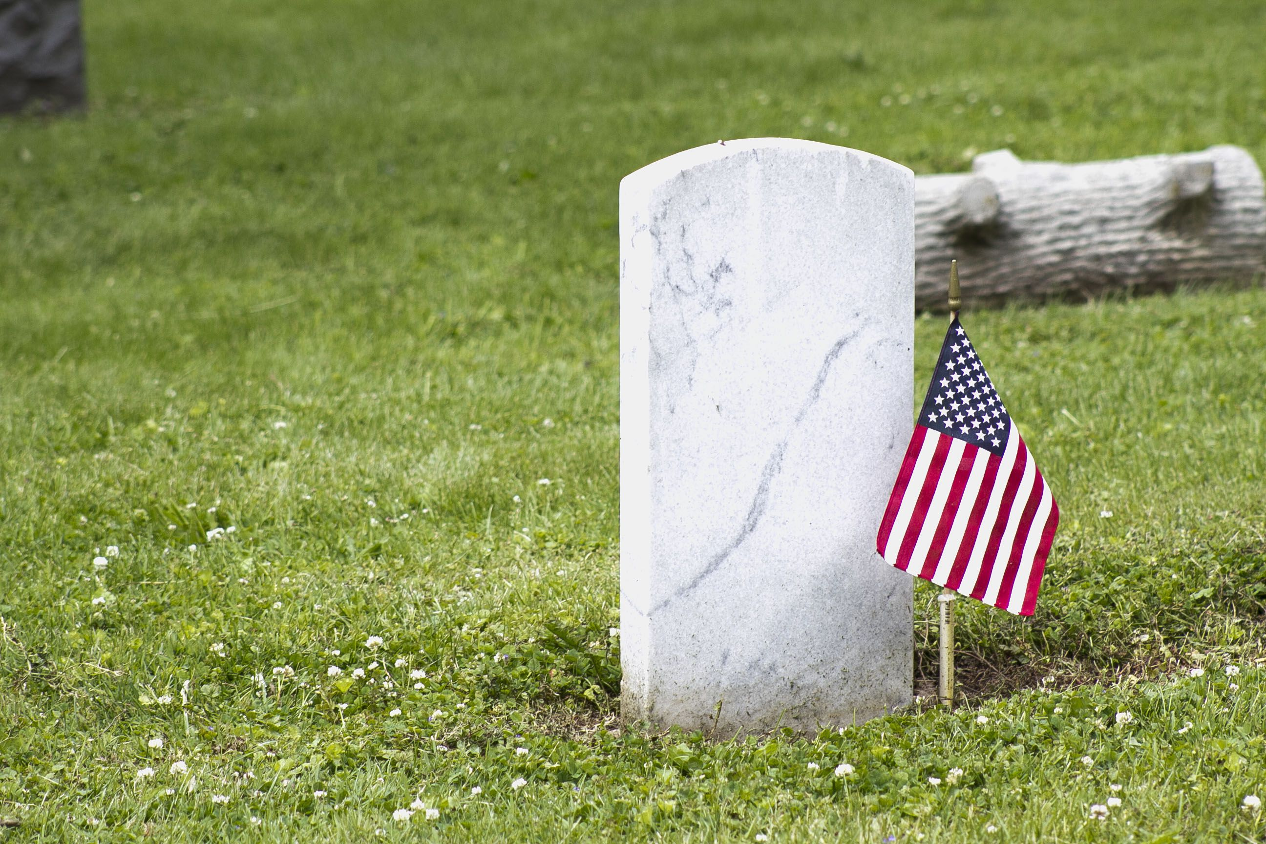 Flags dotted the tombstones in Oswego Township Cemetery Monday morning, as residents filed into the space for the annual Memorial Day ceremony led by American Legion Post 675