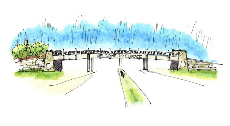NorthPoint Development intends to build a gateway bridge over Route 53 in Elwood to ensure that semitrailers only enter the proposed Compass Business Park one way.