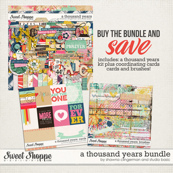 A Thousand Years Bundle by Shawna Clingerman and Studio Basic